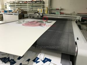 digital cutter felt conveyor belts