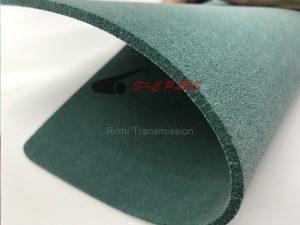 green felt belts