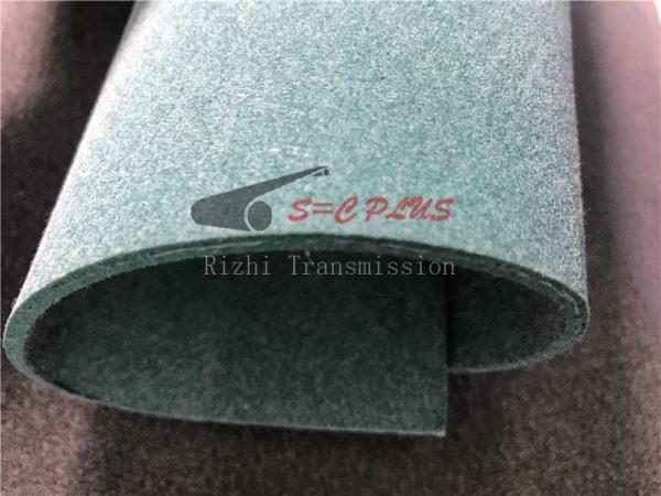 green felt belt