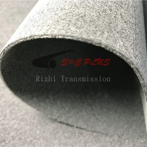 grey 2.5mm felt belt