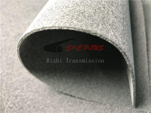 grey 2.5mm felt belt
