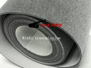 grey felt belt