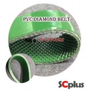 conveyor belt pvc green