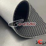 black belt conveyor PVC